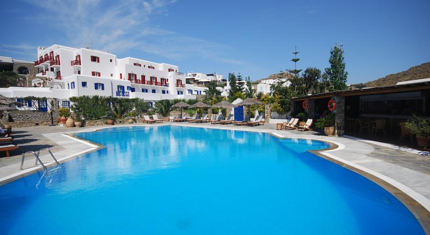 Hotel Kamari Beach auf Mykonos in Plati Gialos