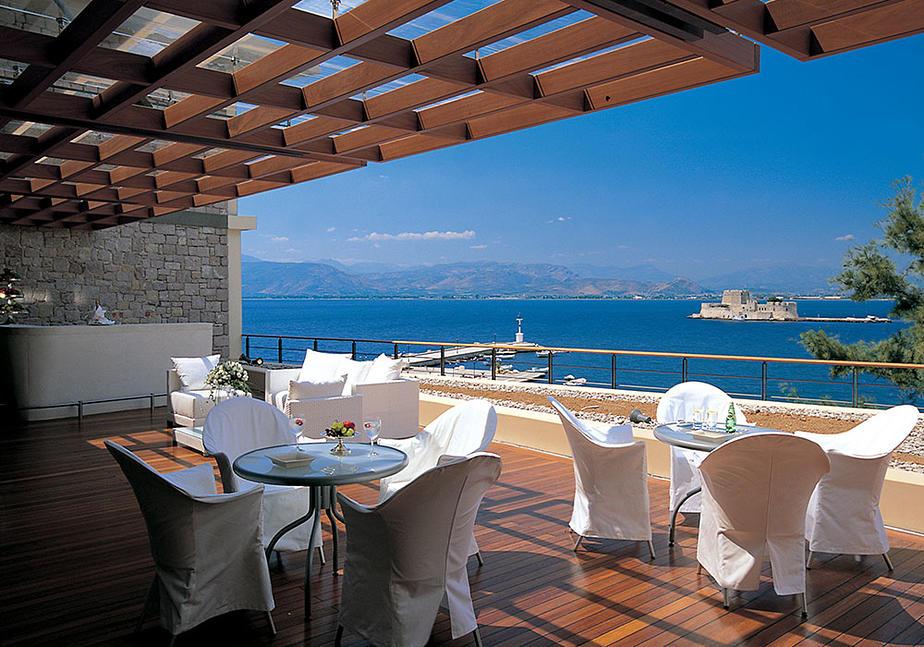 Hotel Amphitryon auf dem Peloponnes im Ort Nauplia