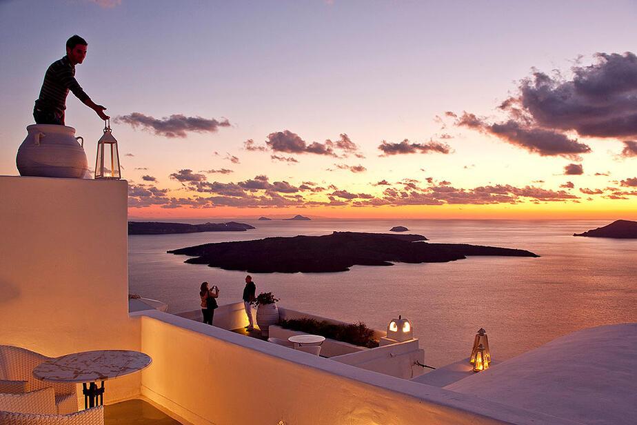 Hotel Cliff Side Suites Santorin für unser Inselkombinations-Programm Kreta-Santorin