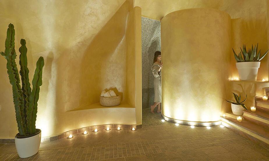 Santorin | Imerovigili | Hotel Andromeda Villas direkt am Kraterrand