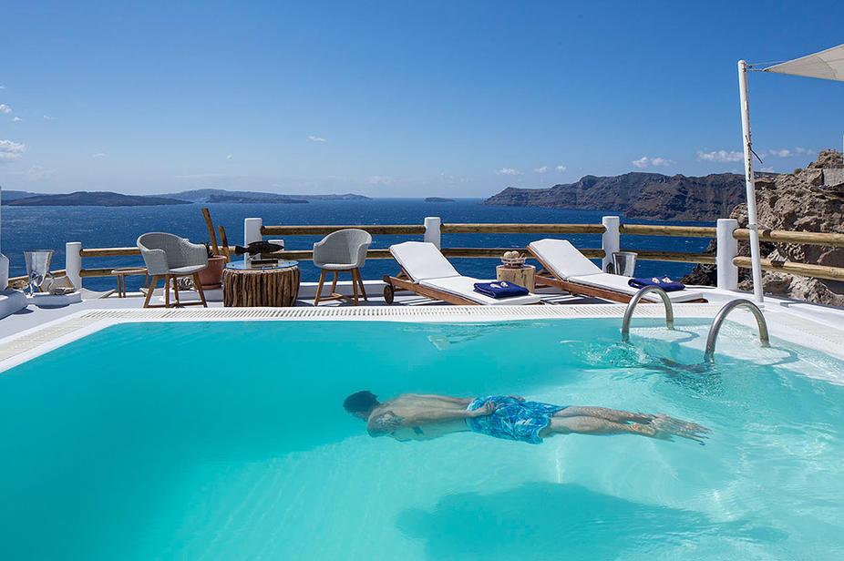 Hotel Caldera Villas auf Santorin im Ort Oia