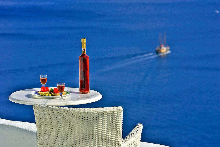 Kreta Kombinationsreise Santorin | Hotel Residence Suites
