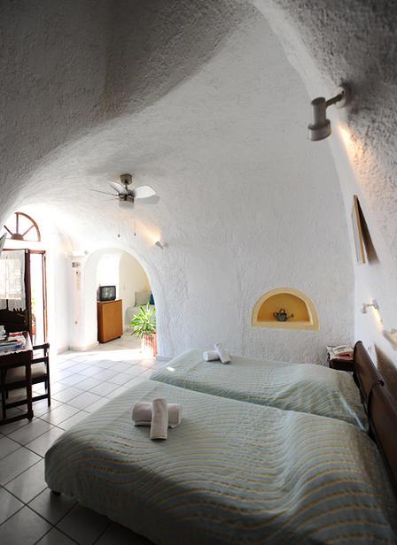 Hotel Kavalari auf Santorin am Kraterrand