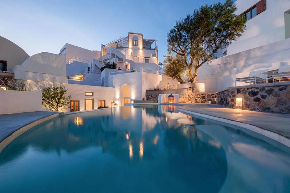 Senses Boutique Hotel Santorin direkt beim Spezialisten günstig mit Privat-Transfer buchen