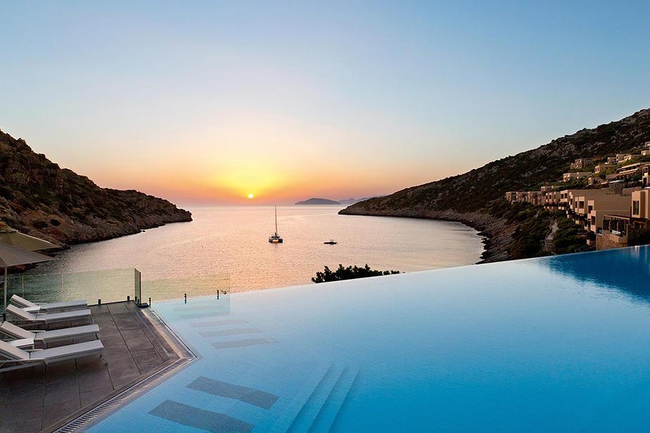 Hotel Daios Cove auf Kreta bei Agios Nikolaos