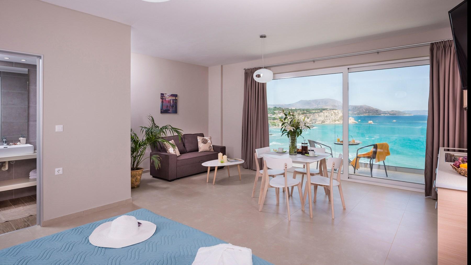 Westkreta Apartments Almyrida Panorama