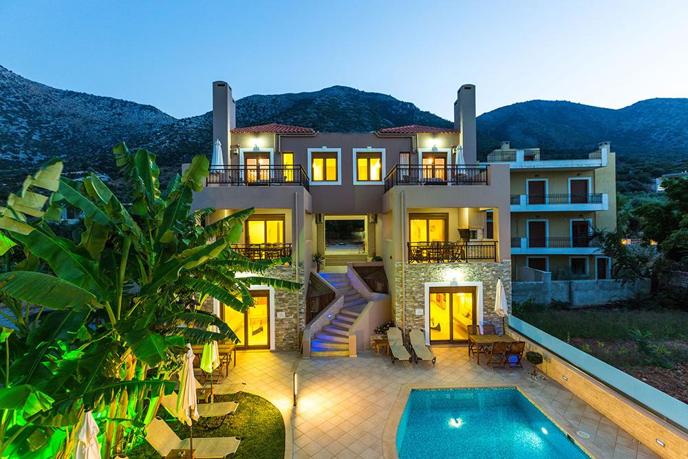 Kreta kleine Ferienhäuser Pnatheon