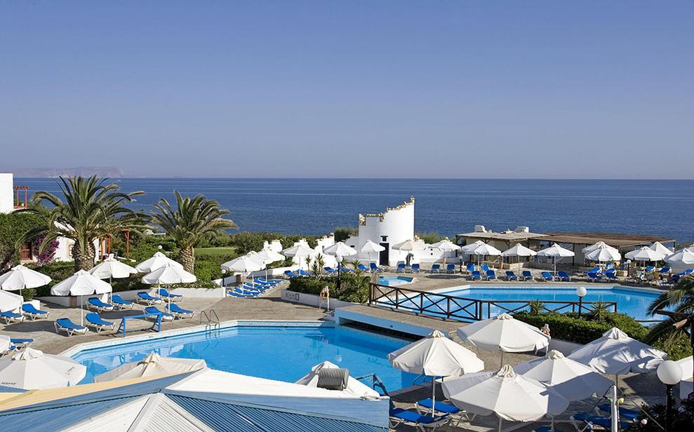 Hotel Aldemar Cretan Village auf Kreta im Ort Chersonissos