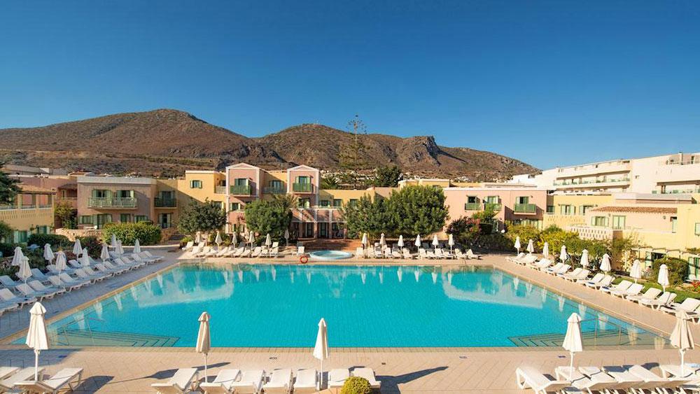 Hotel Silva Beach Chersonissos Kreta