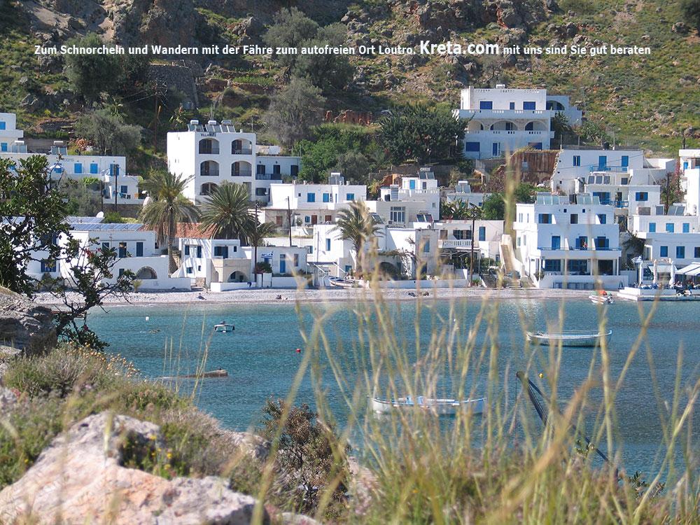 Kreta | Frangokastello | seaside cottages south coast