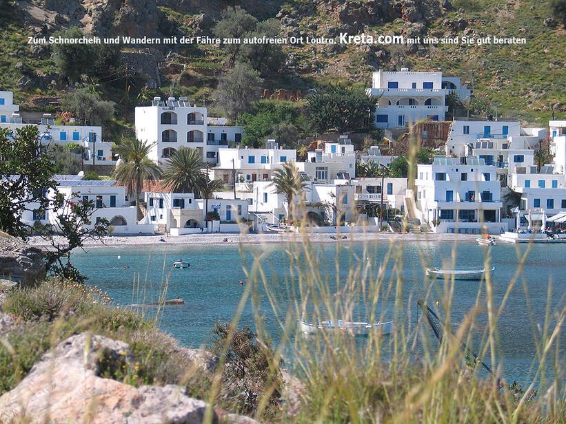 Frangokastello Cottages im Süden Kretas