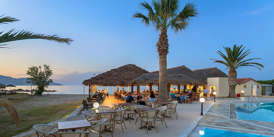 Hotel Happy Days auf Kreta beim Ort Georgioupolis |