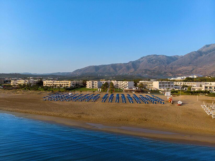 Hotel Delfina Beach auf Kreta bei Georgioupolis