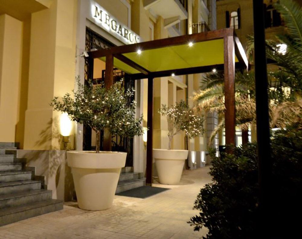 Kreta.com die Kreta Experten bieten das Hotel Megaron in Heraklion - Stadt an inklusive pr