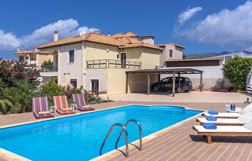 Informationen und Fotos sowie Preise für die Villa Ierapetra