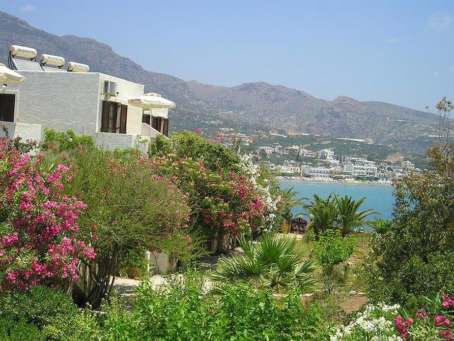 Apartments Panmar auf Kreta im Ort Makri Gialos
