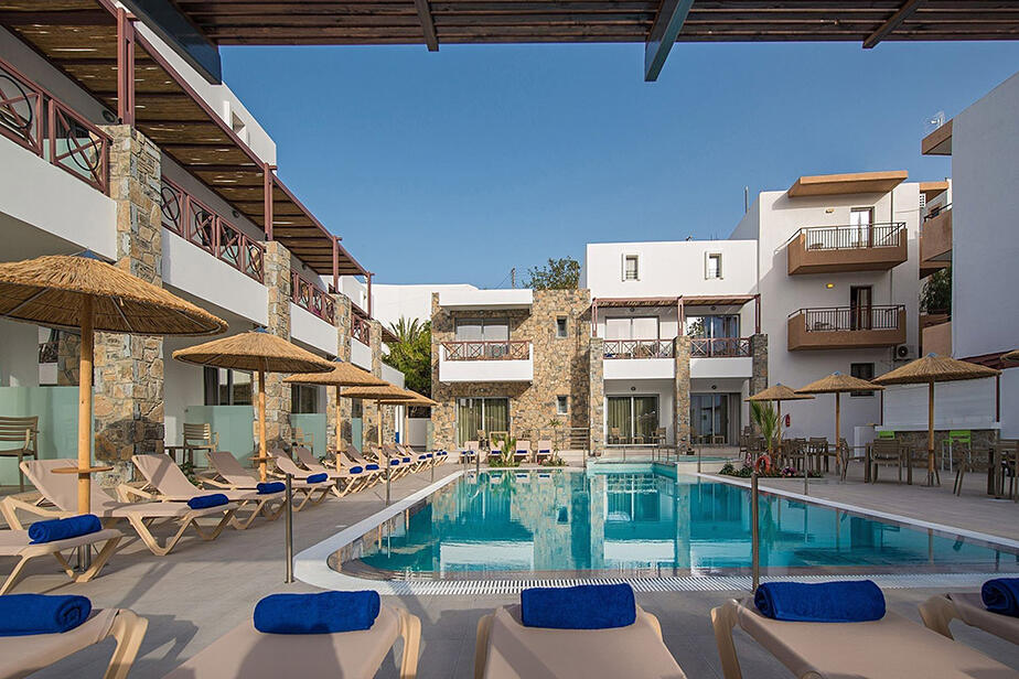 Hotel Apartments South Coast auf Kreta im Ort Makri Gialos
