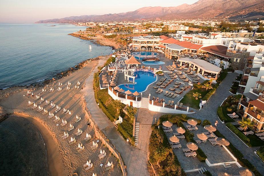 Hotel Alexander Beach auf Kreta im Ort Malia