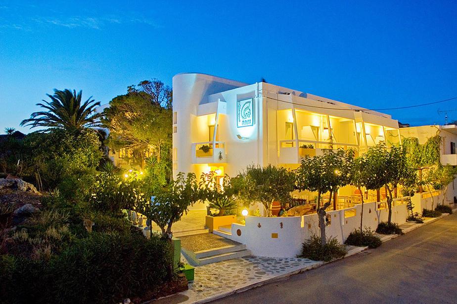 Hotel Aris in Paleochora Süd Kreta