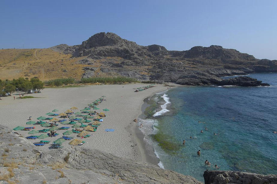 Hotel Ammoudi Beach auf Kreta bei Plakias