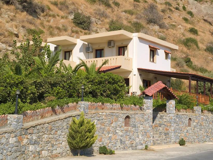 Kreta   Plakias    Hotel Studios Talos