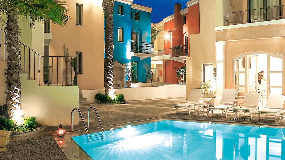 Grecotel Plaza Spa Apartments auf Kreta bei Rethymnon