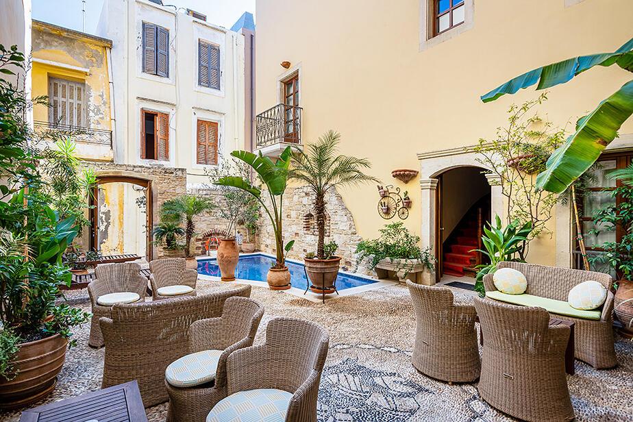 Hotel Palazzino Di Corina Kreta Rethymnon