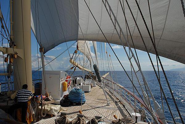Star Clipper Kreutzfahrten im östlichen Mittelmeer